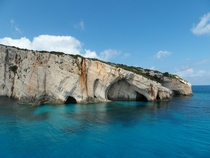Blue Caves Zakynthos Greece