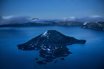 Blue hour at Crater Lake