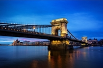Blue Hour in Budapest