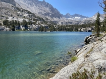 Blue Lake in Bishop California