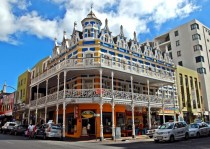 Blue Lodge Long Street Cape Town - interesting example of late-Victorian architecture in South Africa