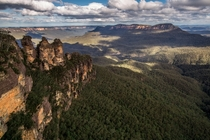 Blue Mountains of Australia  x