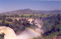 Blue Nile Falls on the Blue Nile River Ethiopia
