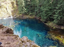 Blue Pool Oregon