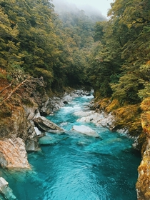 Blue Pools Mt Aspiring National Park New Zealand