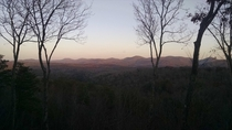 Blue ridge mountains OC x