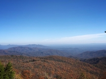 Blue Ridge Parkway near Old Fort NC  x