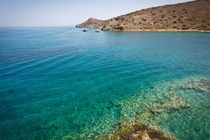 Blue Waters Spinalonga Island Greece