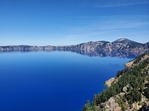 Bluest Blues at Crater Lake OR   x
