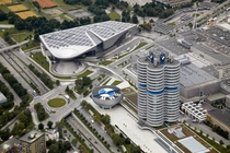 BMW Headquarters amp Museum Munich Germany