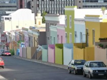 Bo Kaap neighbourhood of Cape Town South Africa