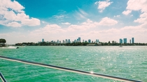 Boating in Miami Beach Florida