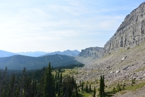 Bob Marshall Wilderness Montana - The Chinese Wall