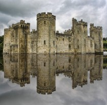 Bodiam Castle Built in the th-Century East Sussex England