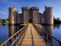 Bodiam castle East Sussex England