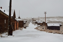 Bodie a ghost town in California  Photographed by David Goulart