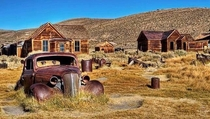 Bodie California Old West ghost town x