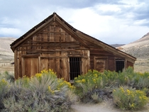 Bodie Jail Bodie State Historic Park California