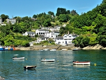 Bodinnick Cornwall UK