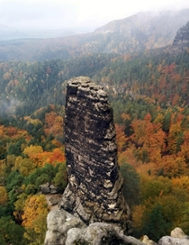 Bohemian Switzerland National Park in October