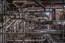 Boiler of the abandoned Domino Sugar Factory - photograph by Paul Raphaelson