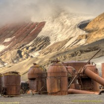 Boilers and storage tanks on Deception Island Antarctica  x Album of  more photos in comments