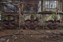 Boilers in an abandoned factory  by Julicious Photography