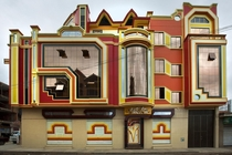 Bolivian spaceship architecture
