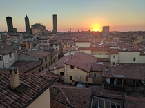 Bologna IT sunset