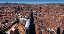 Bologna Italy Pano from the main tower m