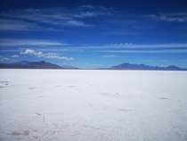 Bonneville Salt Flats Salt Lake City UT