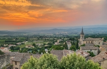 Bonnieux in Provence France