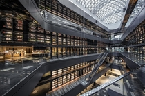 Bookstore-themed shopping mall in Xian China
