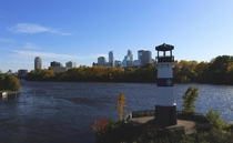 Boom Island Lighthouse  Minneapolis