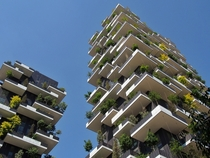 Bosco Verticale Towers Milan - Worlds First Vertical Forest