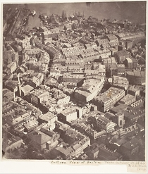 Boston as the Eagle and the Wild Goose See It The first ever aerial photograph of an American ciy Boston