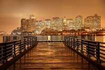 Boston by the Harbor by Denis Tangney Jr