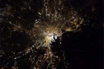 Boston from the International Space Station