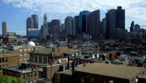 Boston - from the top of the Old North Church