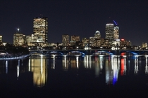 Boston Skyline and Longfellow Bridge