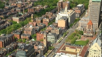 Boston Steeples Greens and Dizzying Charm