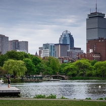 Boston that dock is my favorite spot to jump rope Easy on the knees and the eyes
