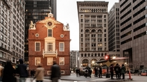 Bostons Historic Old State House os
