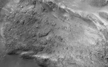 Boulders on a Martian Landslide by the HiRISE camera on NASAs Mars Reconnaissance Orbiter