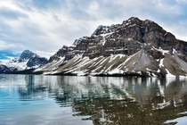 Bow Lake in Alberta One of many stops along one of the most scenic stretches of road on Earth