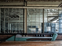 Bowling Alley in abandoned factory