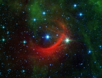 Bowshock in front of rapidly moving HD