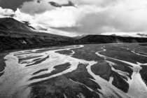 Braided Rivers Central Alaska