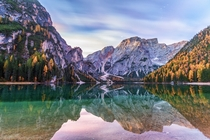 Braies Lake Italy  by Dmytro Cherkasov