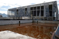 Brazilian Olympics aquatics venue So well maintained since so much public money went into it